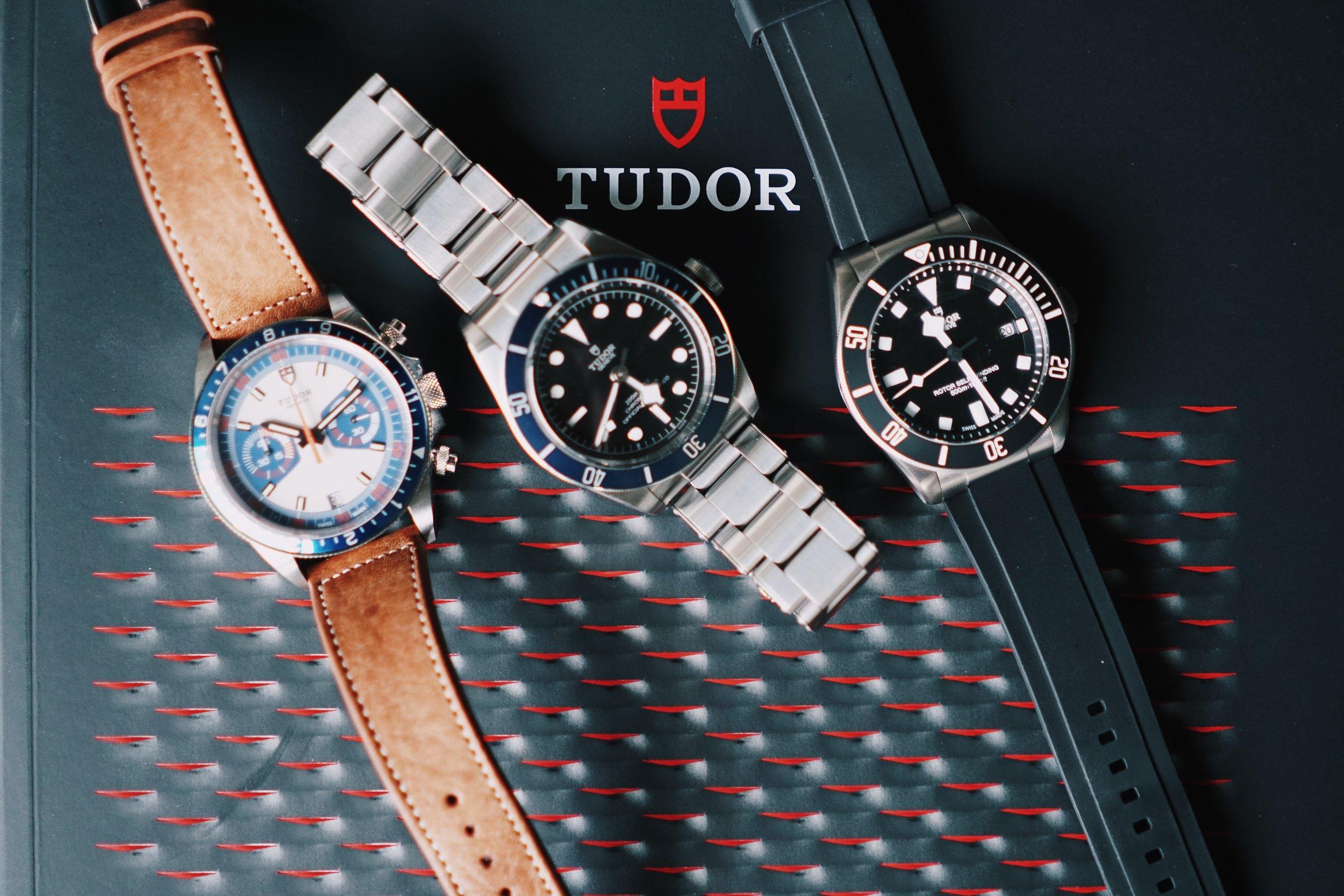 My Tudor Triad.