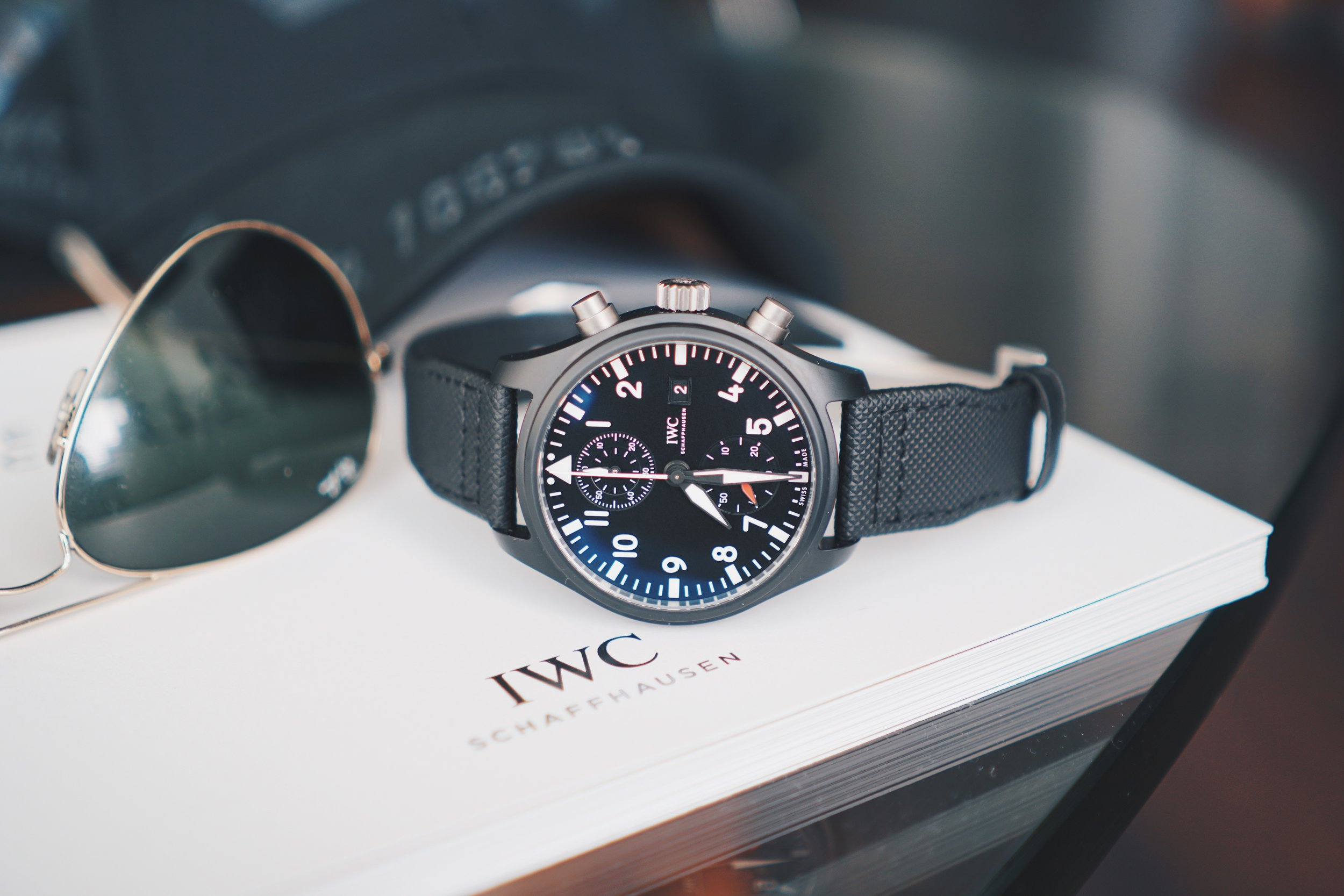 IWC Pilot's Watch Chrono Top Gun joins the squadron.
