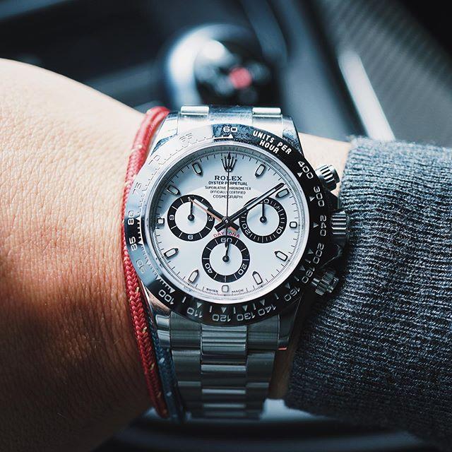 Still loving this guy. Best modern Rolex, hands down. 🐼⌚️#Rolex #Daytona #116500LN #RolexDaytona #Cosmograph #CosmographDaytona #DaytonaCeramic #RolexChronograph #chronograph