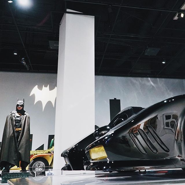 """I am whatever Gotham needs me to be."" - Batman from The Dark Knight #batman #thedarkknight #petersonautomotivemuseum #car #supercar #sportscar #carsofinstagram #dailycars"
