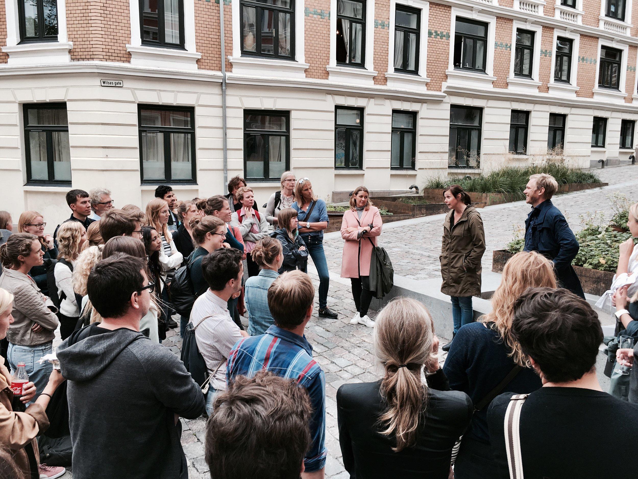 Deichmanns gate - Jannicke og Kim forteller om prosjektet