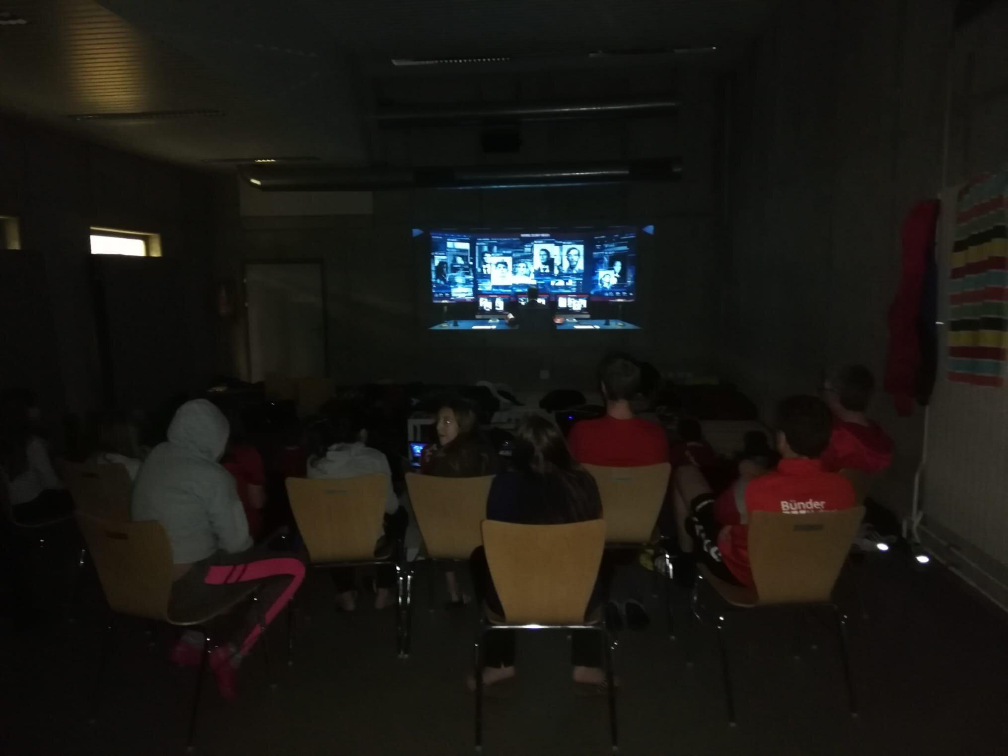 Kinoabend der Mannschaften U11 & U13