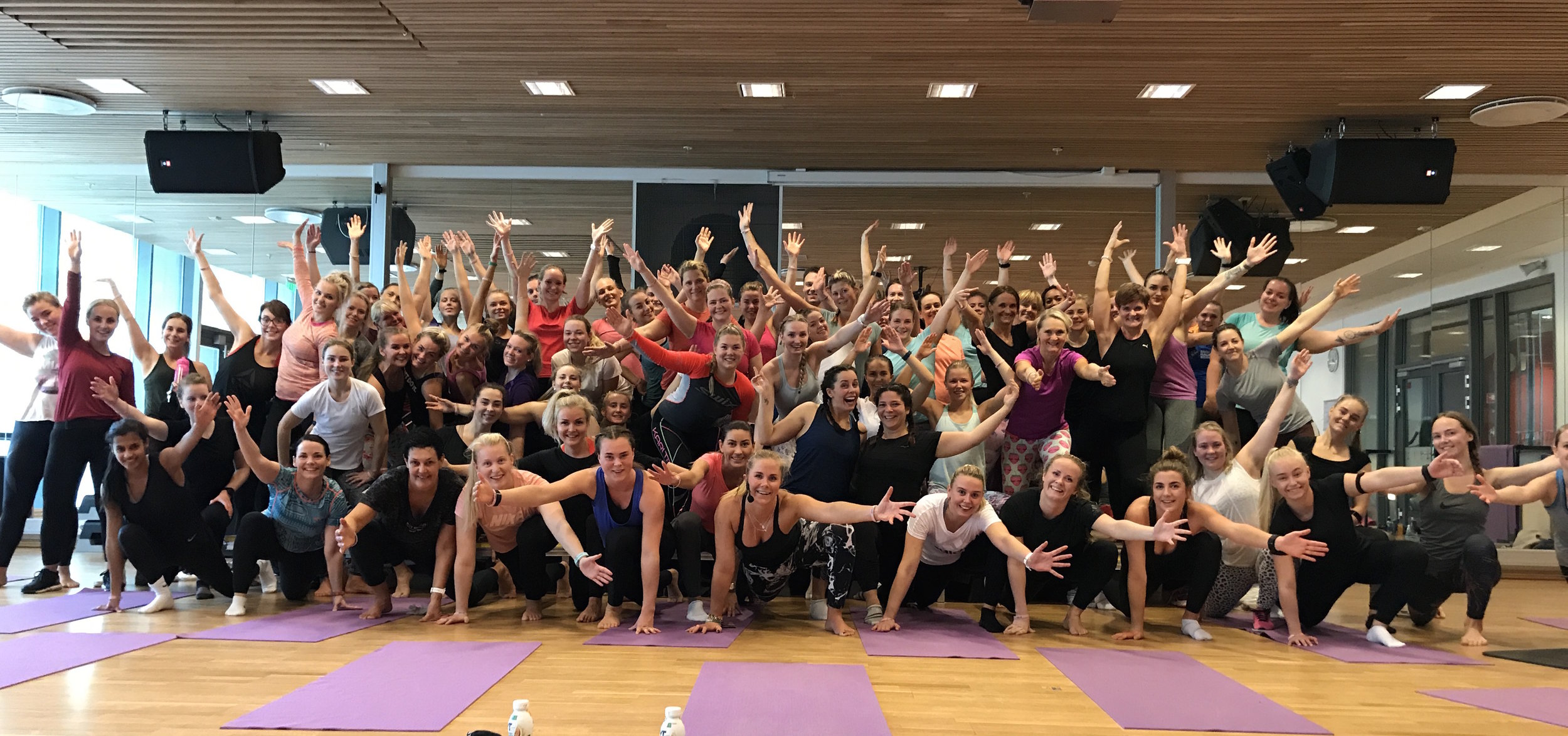 SOMA MOVE på ShapeUp Turné i Bergen :)