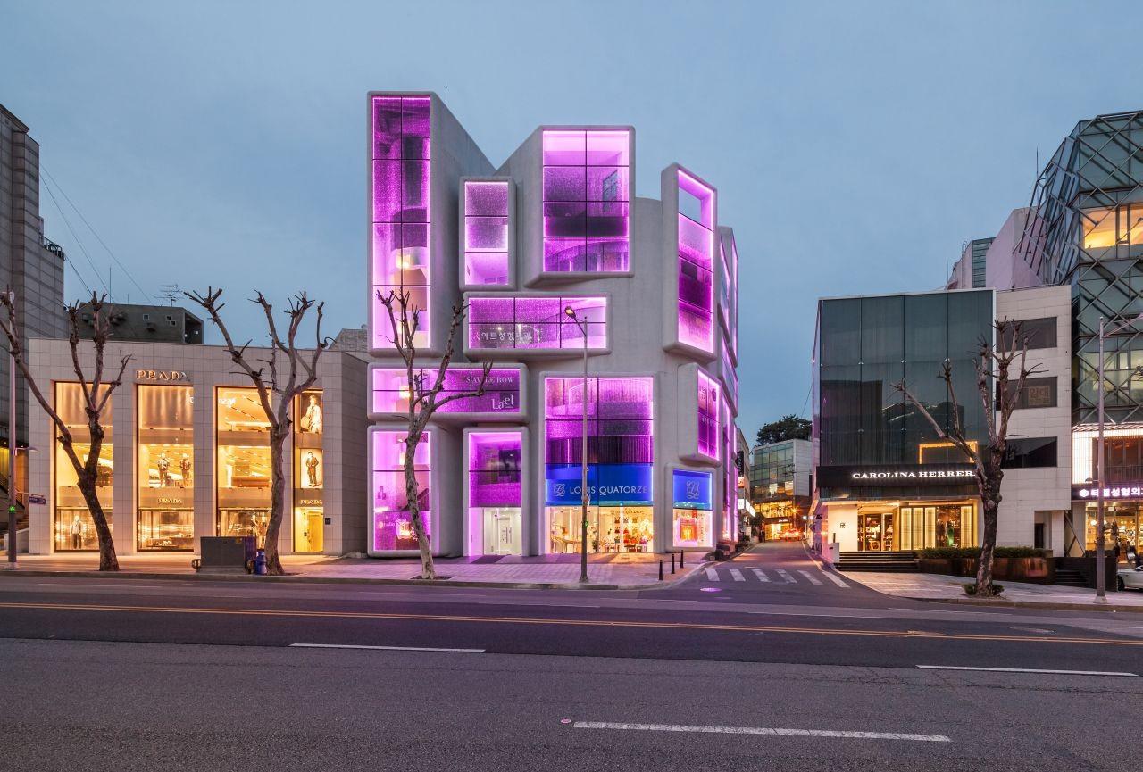 Chungha Building by MVRDV   Kyungsub Shin