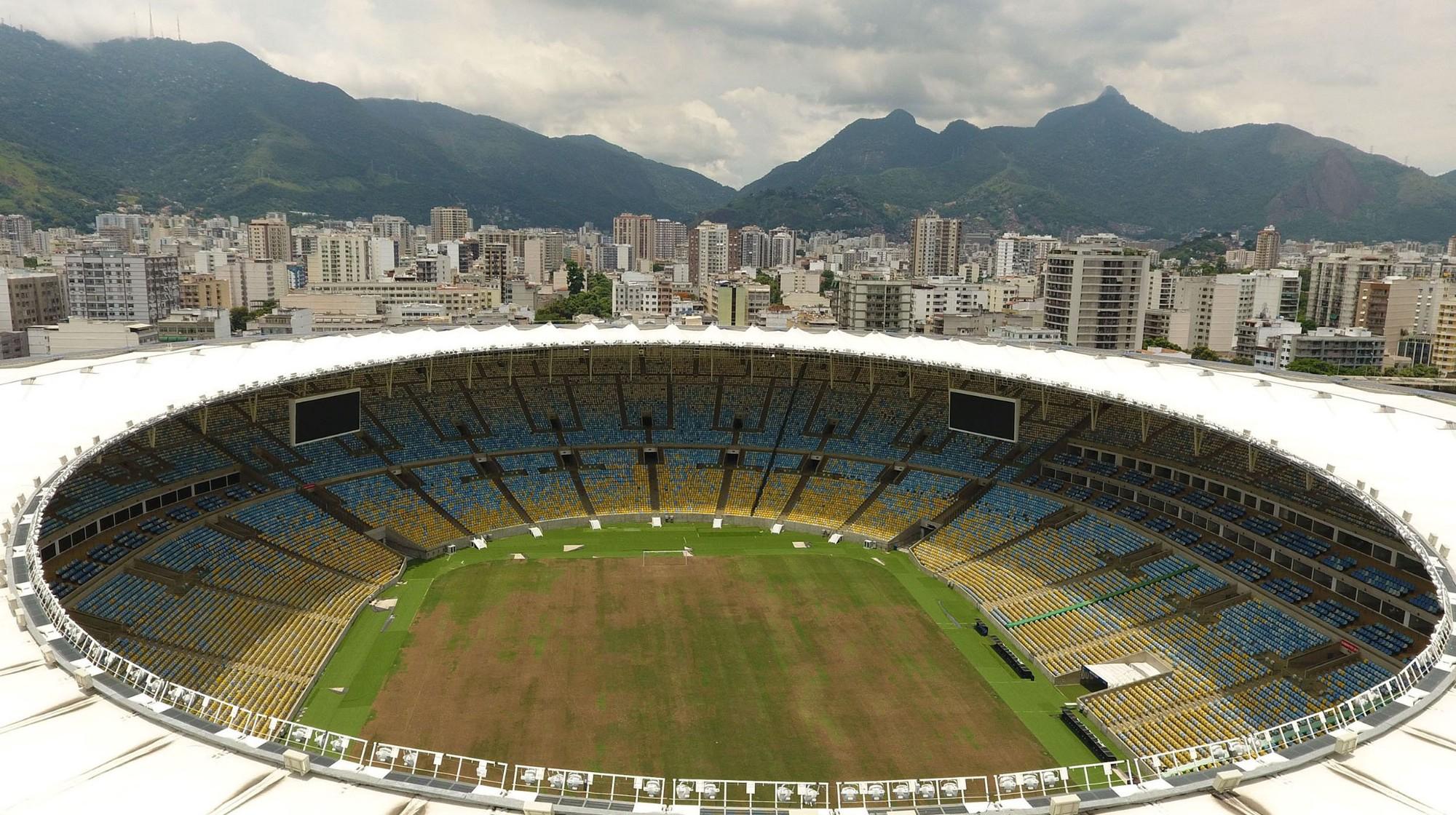The famed Maracana Stadium has gone to waste |  VANDERLEI ALMEIDA/AFP/Getty Images