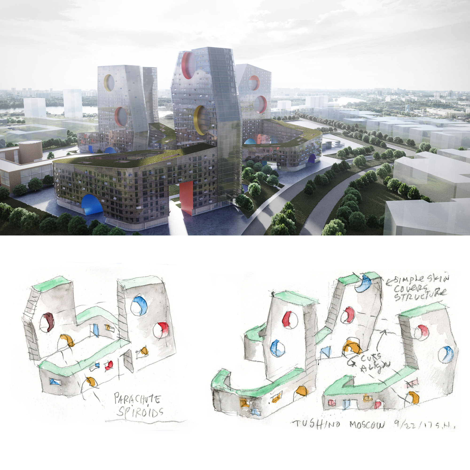 Tushino Residental Towers (2020)