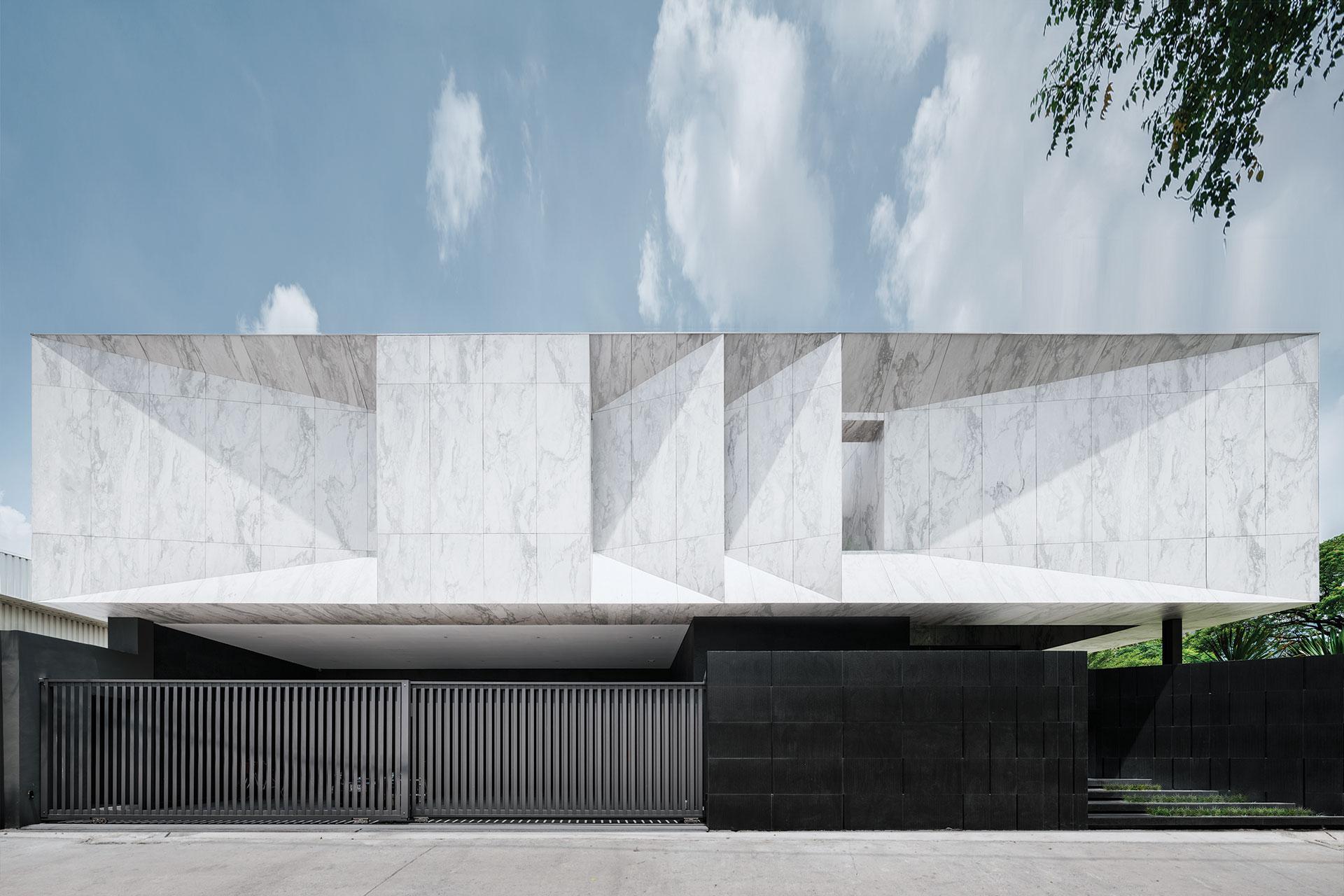 Marble House by Openbox Architects  | Bangkok, Thailand