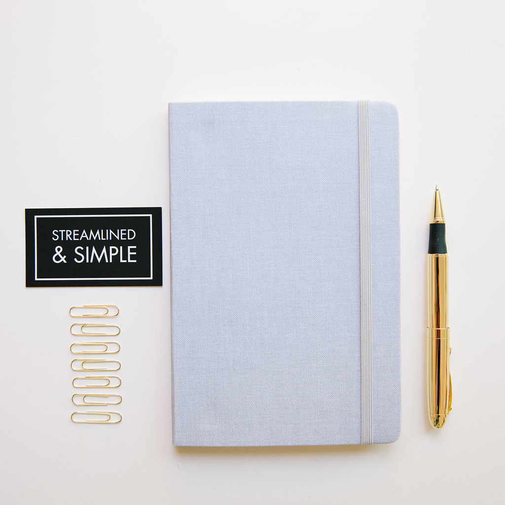 ListBook Front Exterior Cover - Gray Dawn