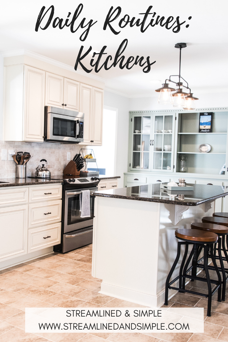 Daily Routines: Kitchens
