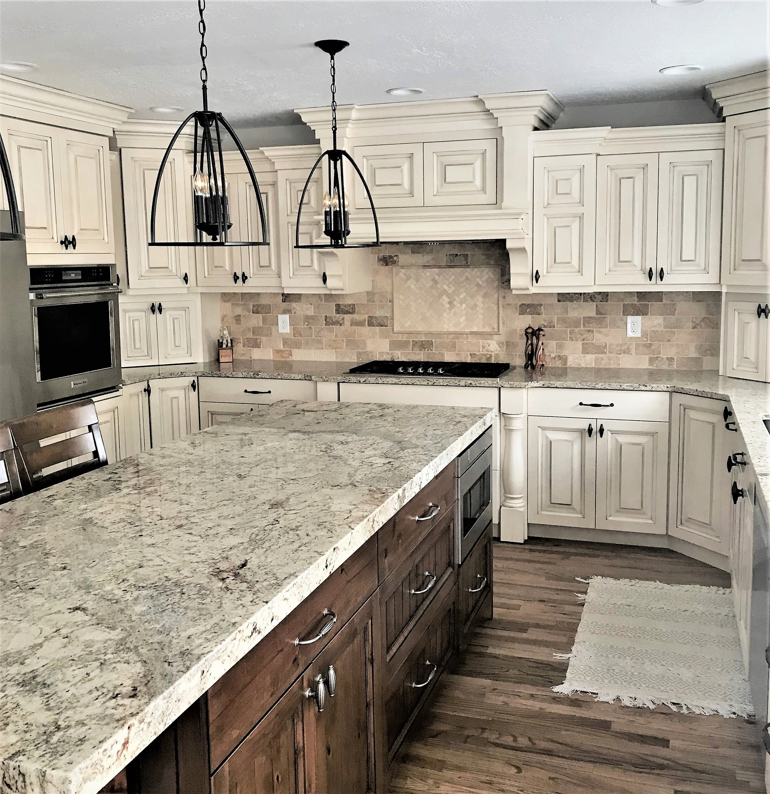 Kitchen Portfolio - Space Planning | Interior Design | Custom Cabinetry | Custom Pantry Doors | Tile Back Splashes | Custom Pantries | Flooring | And More