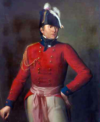 British Army Commander Major General Robert Ross, Smithsonian Collection