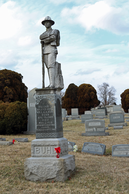 William J. Buhl, like so many of his fellow World War I heroes, died of disease, not combat wounds.