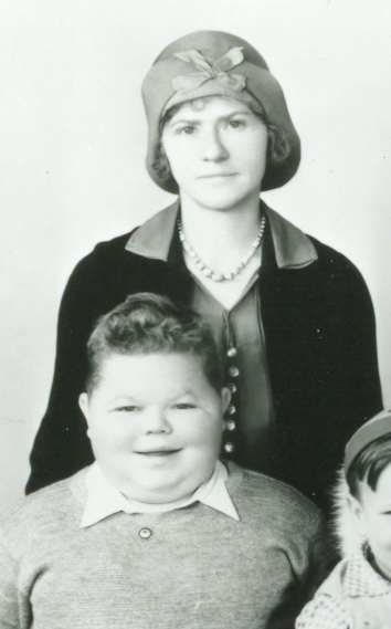 Norman Chaney and his mother, Carolyn Myers Chaney