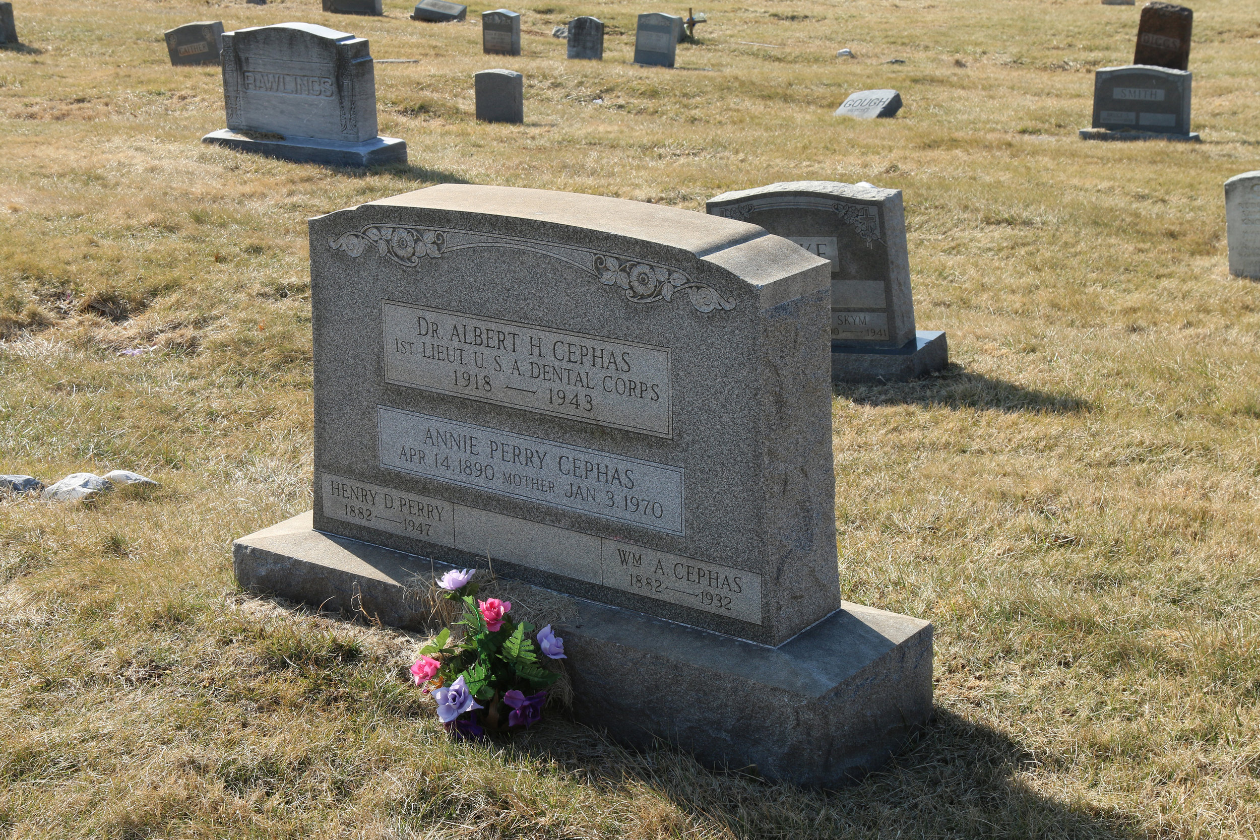 Lt. Albert H. Cephas