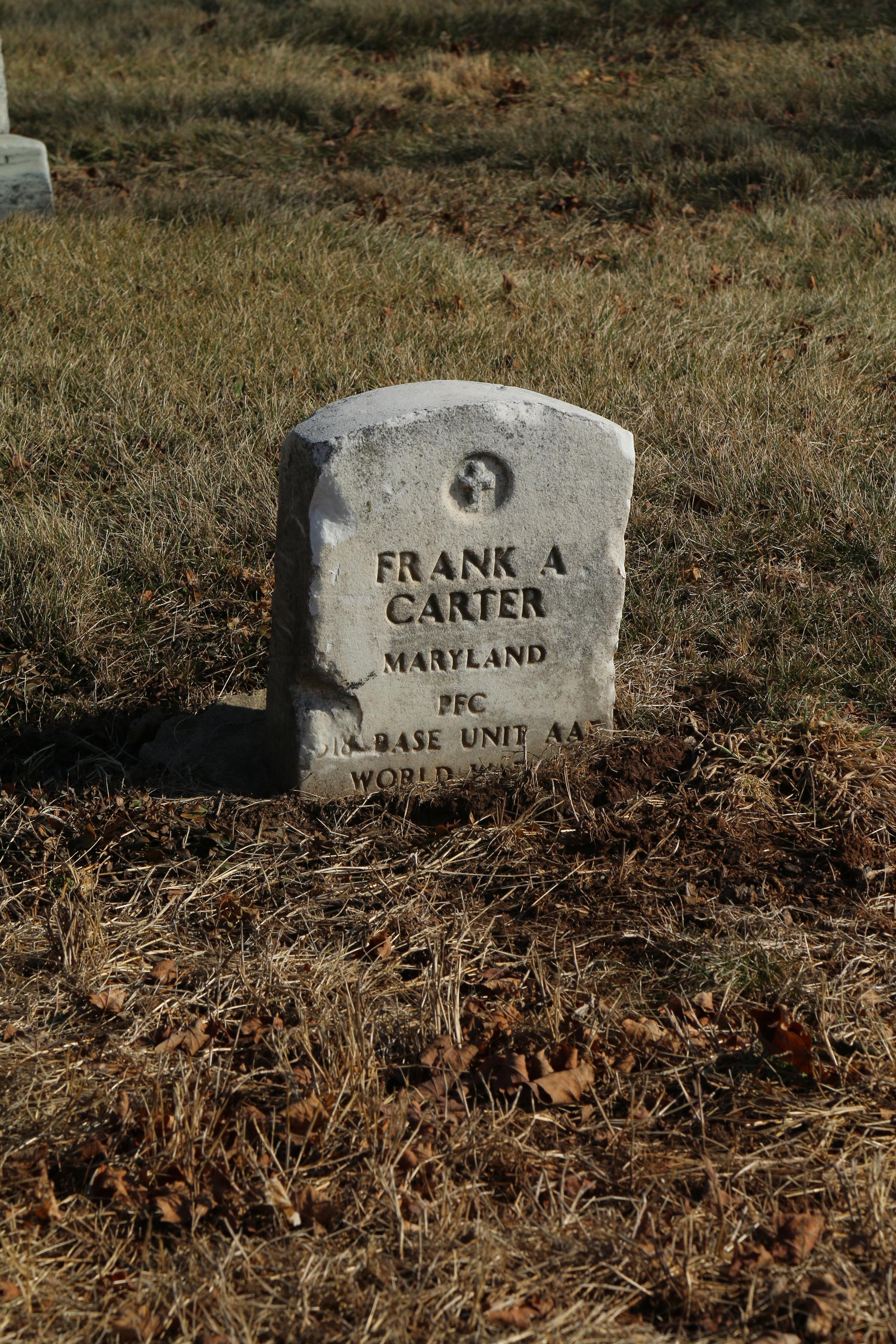 Pfc. Frank A. Carter