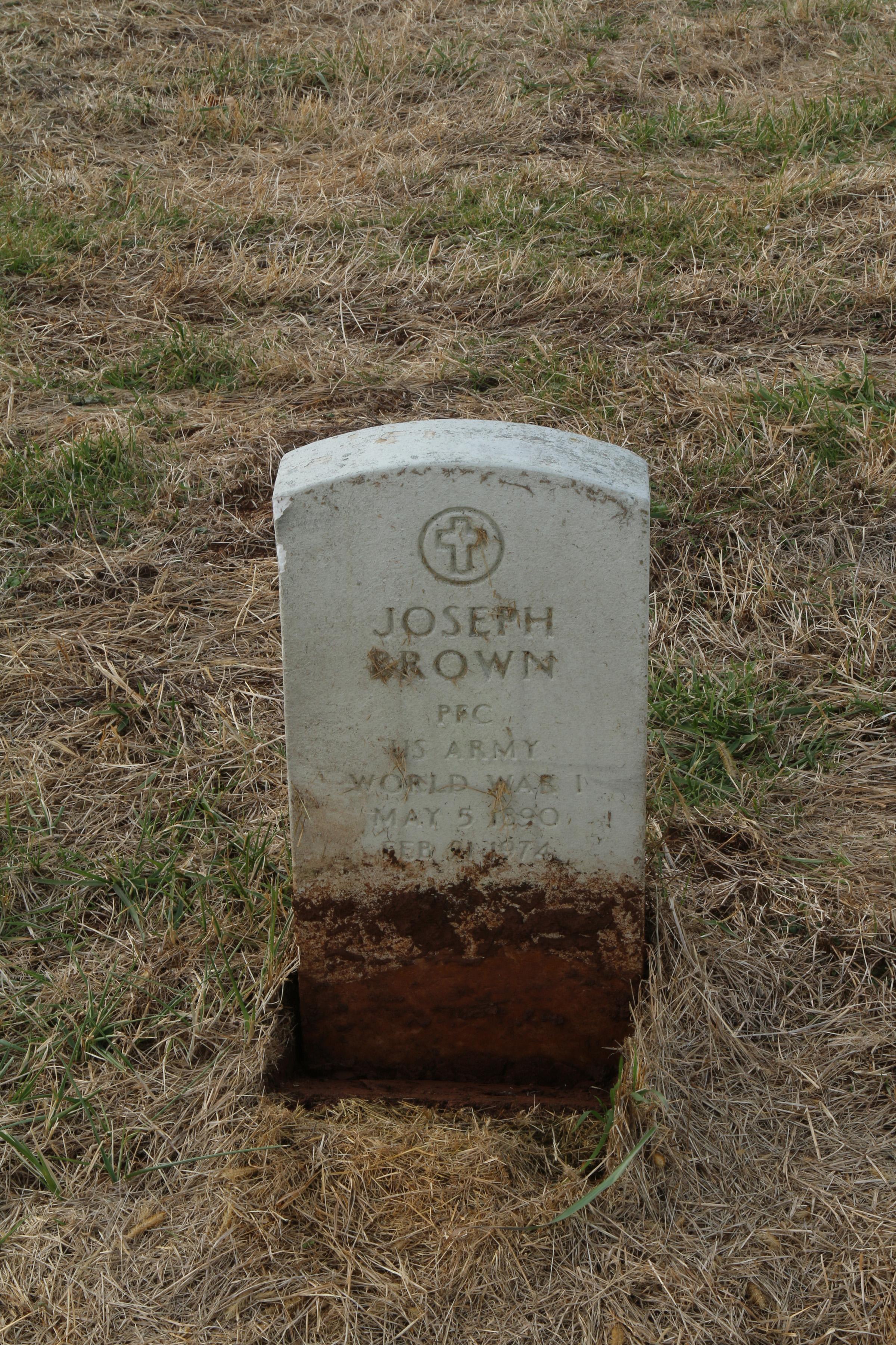 Pfc. Joseph Brown