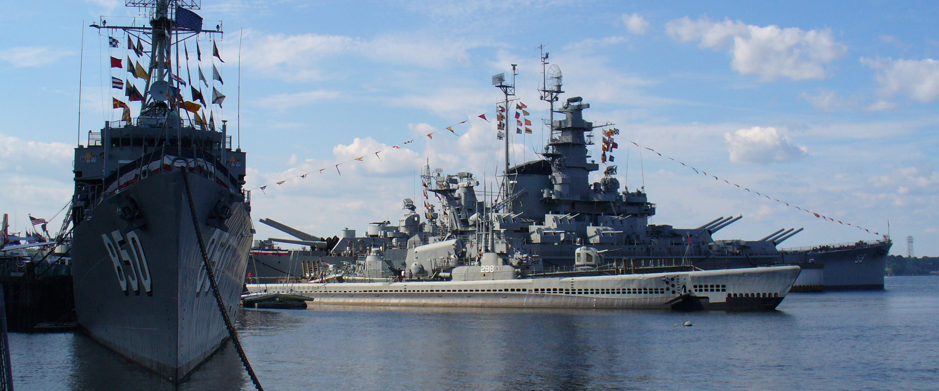 Battleship Cove is a nonprofit maritime museum and war memorial in Fall River, Massachusetts. Featuring the world's largest collection of World War II naval vessels, it is home to the highly decorated battleship USS Massachusetts