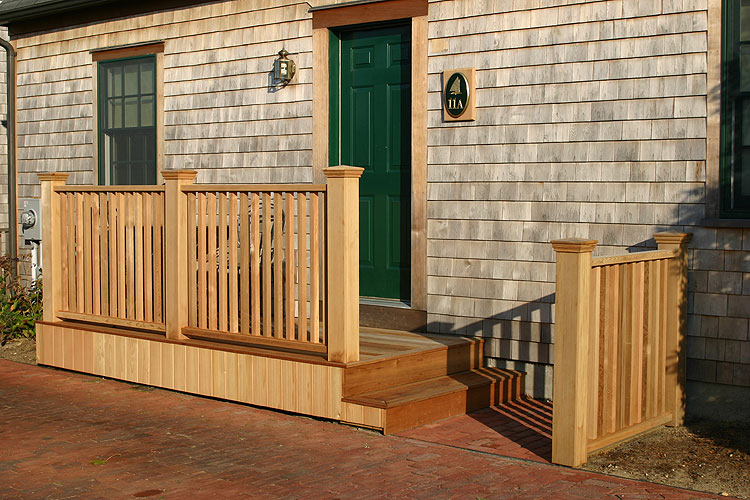 2 Step Wooden Porch