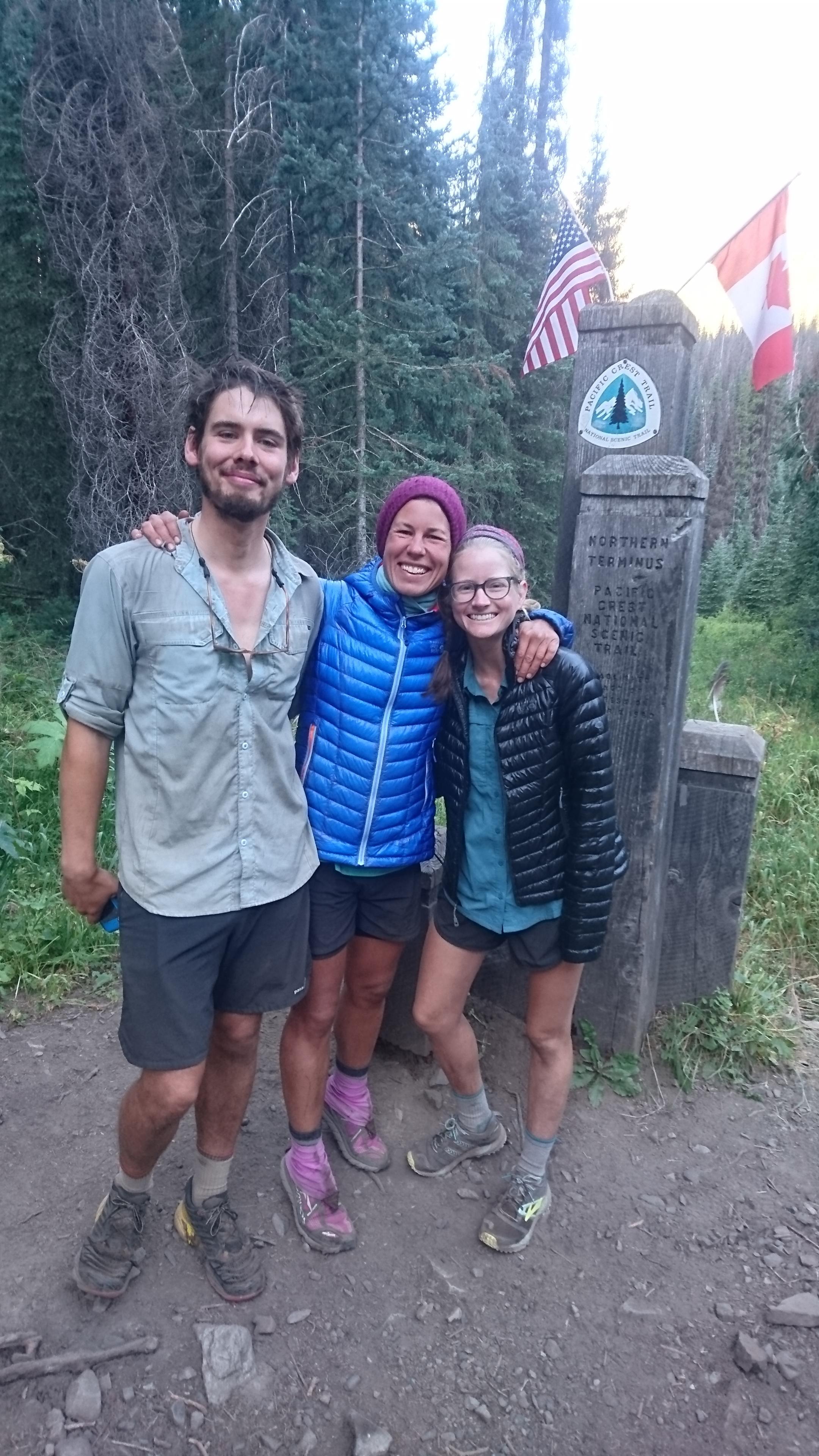 Such good hikingbuddies; Radio and Bites!