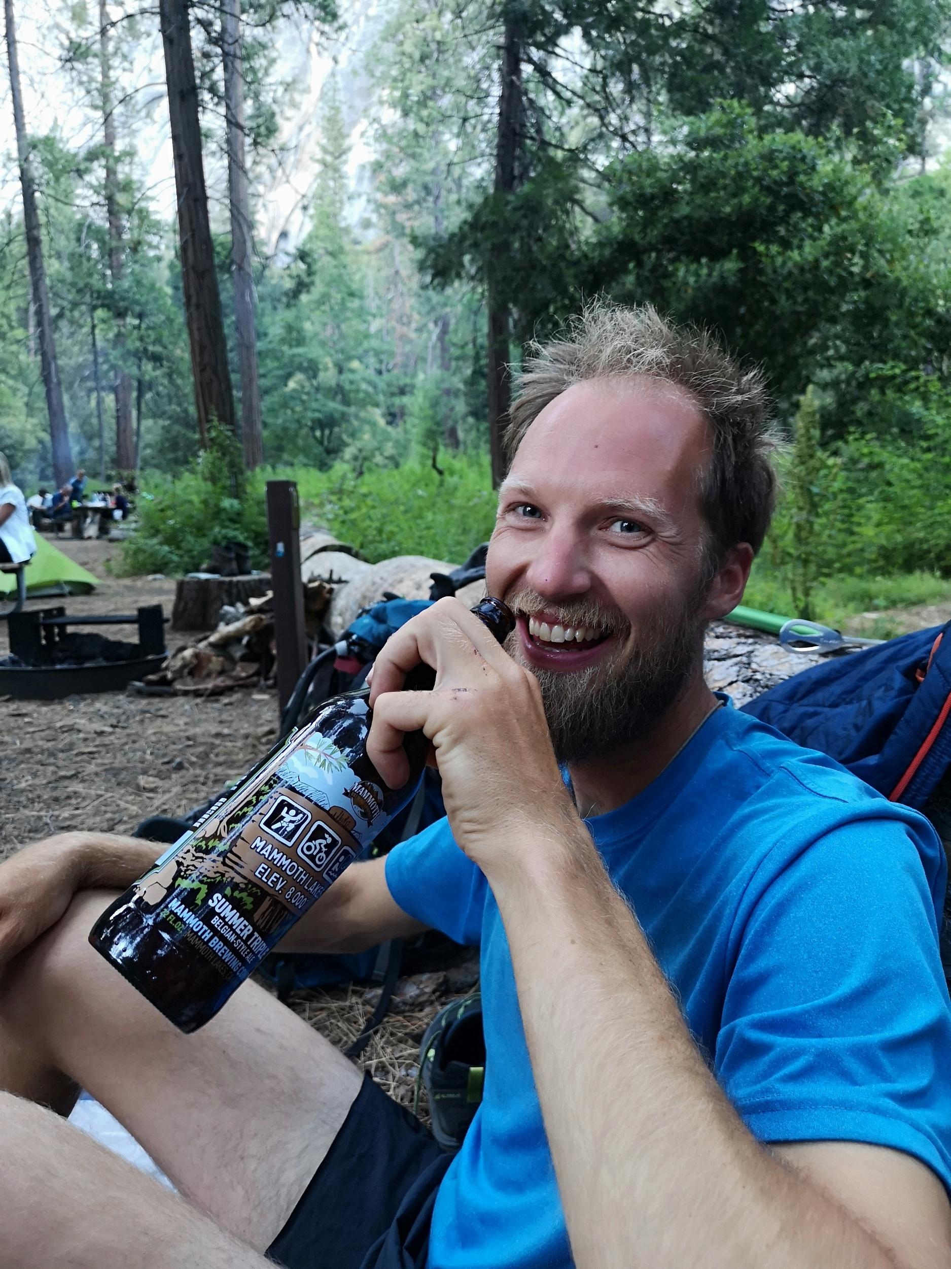 Happy in Yosemite