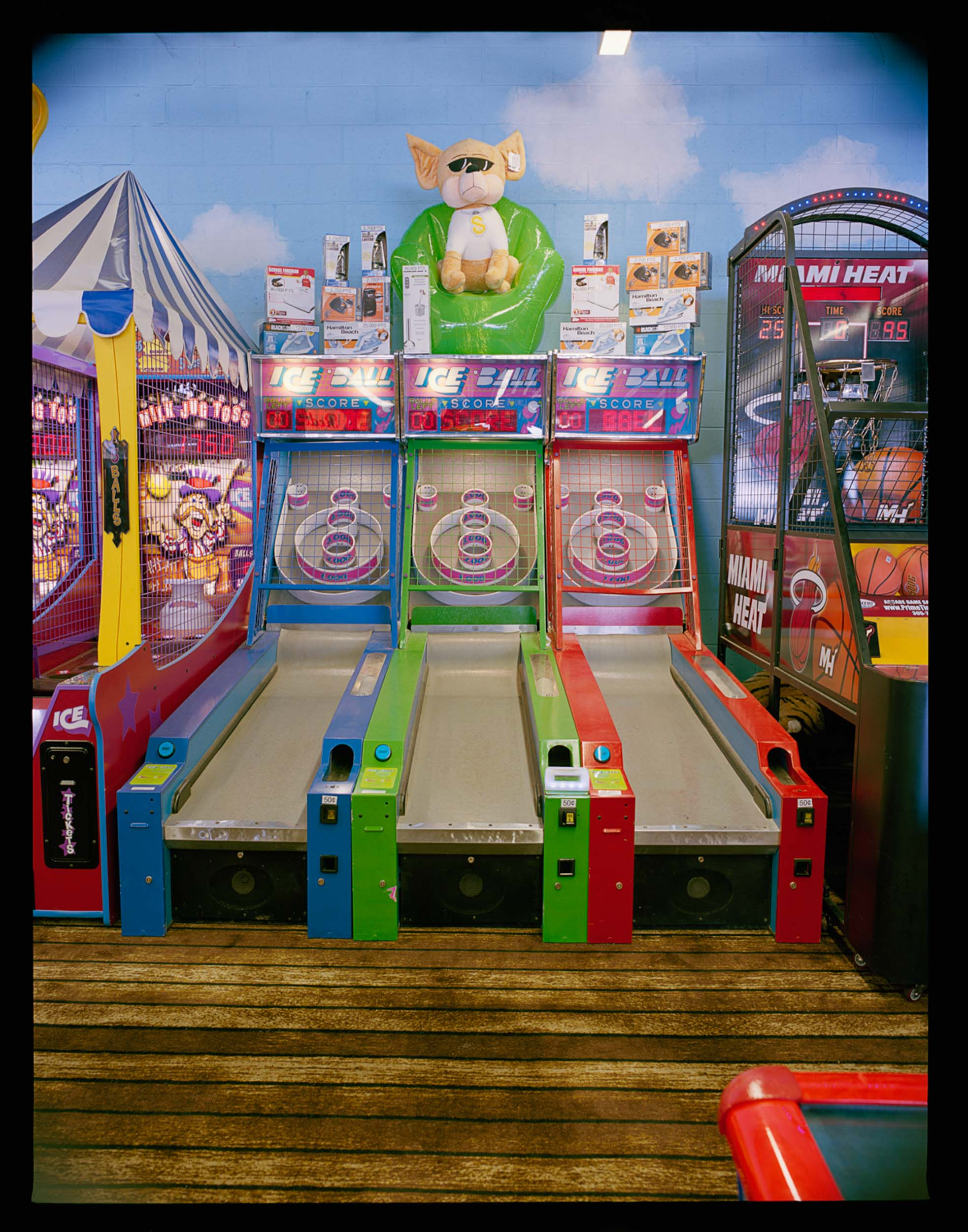 Shake Shoppe Arcade #2, Seaside, NJ. 2014. Mamiya RZ67.
