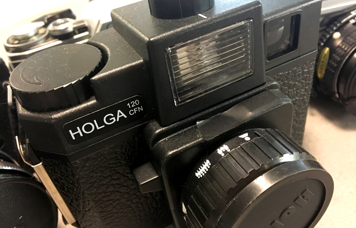 I bought this Holga 120 CFN when I was splurging and wanted to get a feel for 120 and a plastic lens.