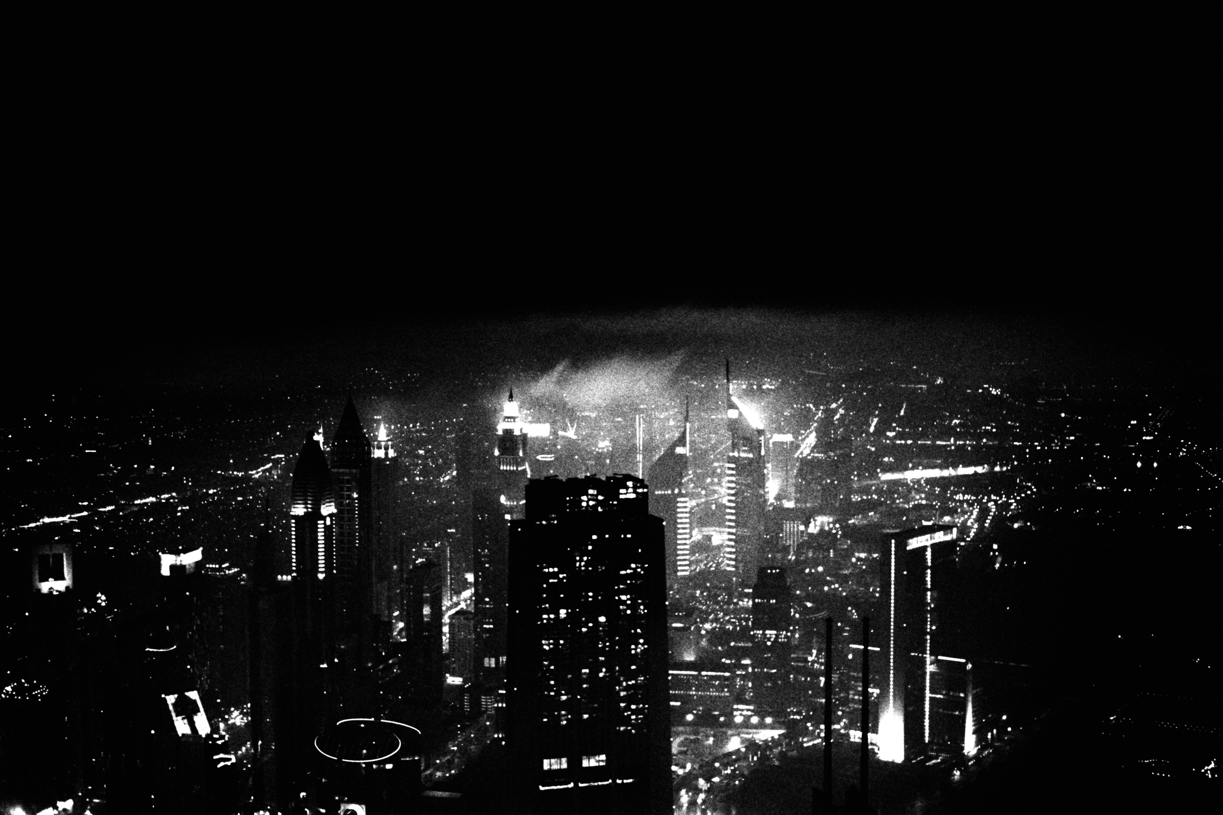 """""""Dubai at night"""" from the new book """"Black Gold"""""""