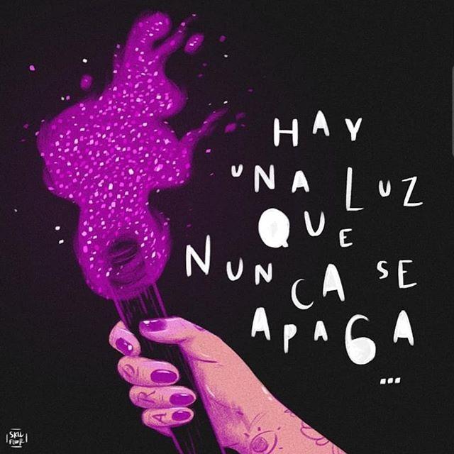 La esperanza para exigir un mejor México siempre van a seguir prendinda. Vía @skvllflower #YaEsHora #Feminismo #DiaDeLaDiamantina  #exigirjusticianoesprovocación