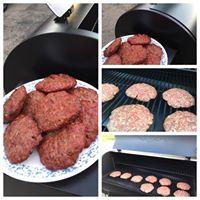 Smoked Cincy Beef burgers