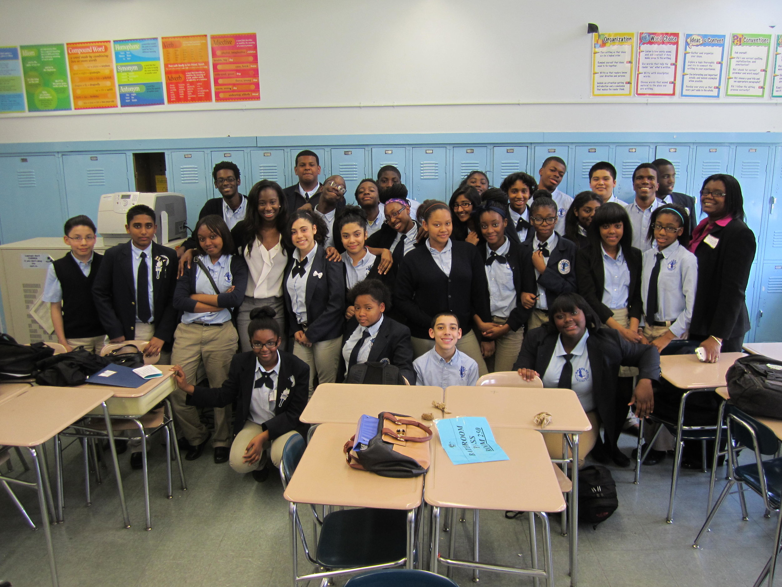 Career Day at Kappa VI Middle School