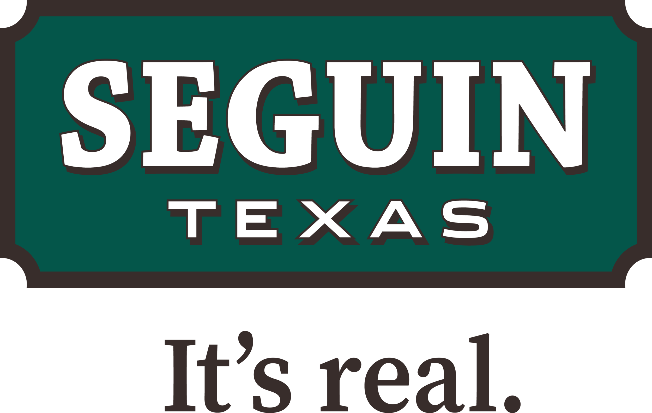 Seguin Logo and Tag Brown Border        3193x2021.png