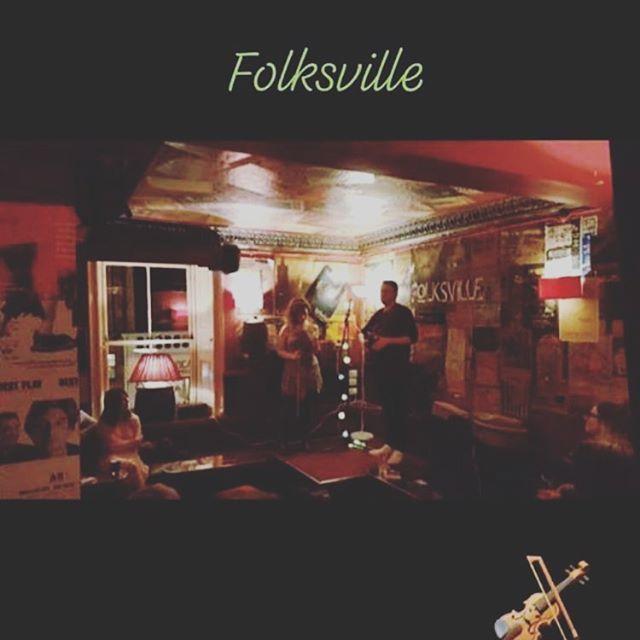 Thanks @folksville for having us on Saturday! #livemusic #edinburgh #fiddle #folk #acoustic #scottish