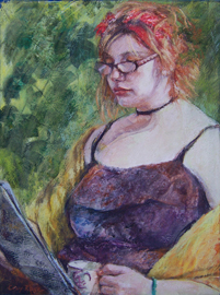 "Sunday Morning ""Best of Show"" Steubenville Art Association Juried Exhibit"
