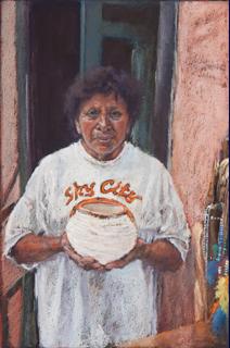 Irene, Acoma Potter