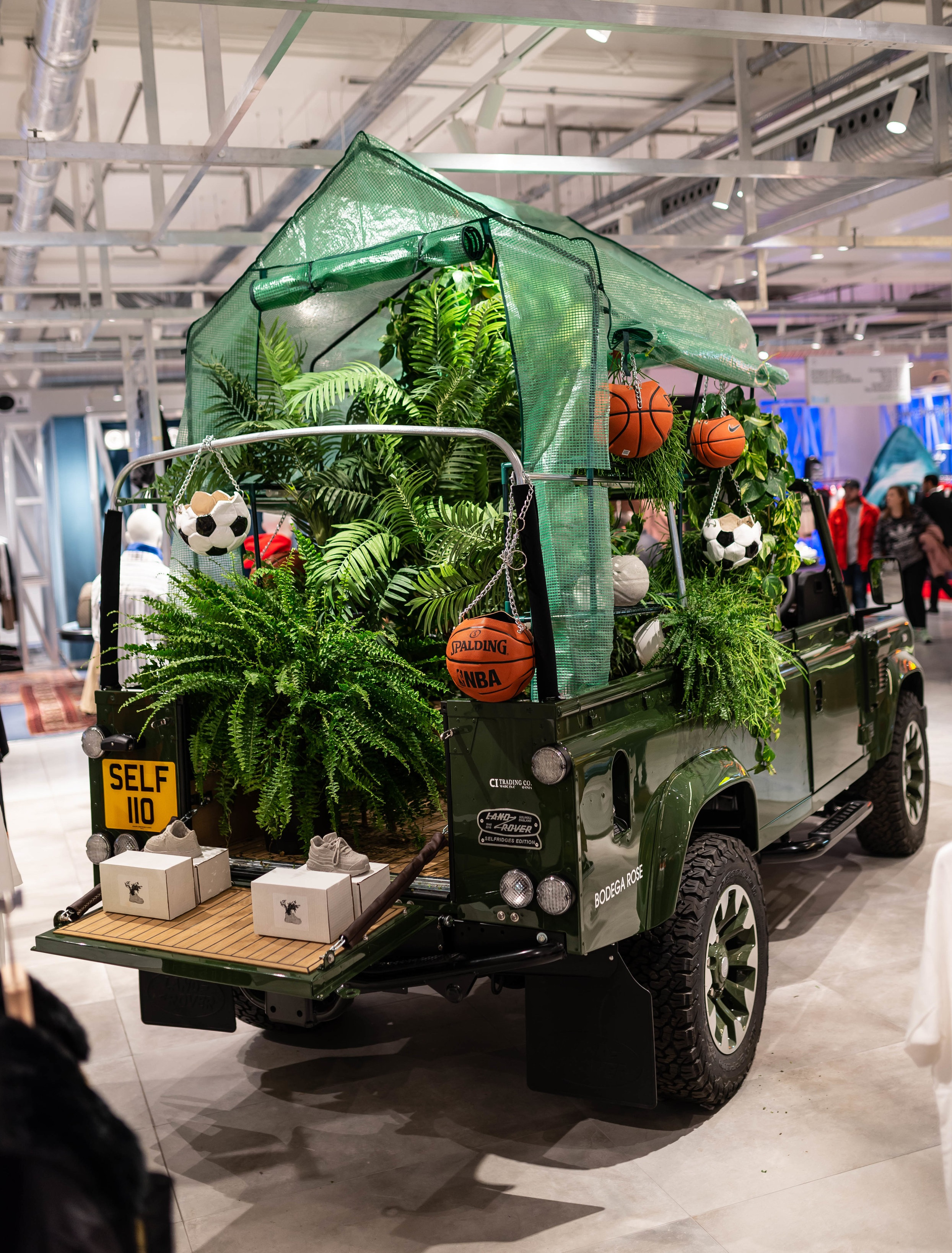 Selfridges x Land Rover Defender