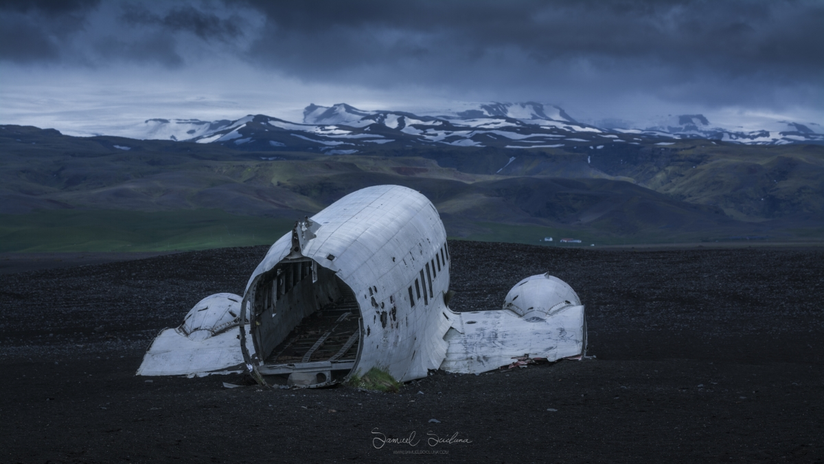 The Sólheimasandur plane wreck has actually become a huge tourist attraction!