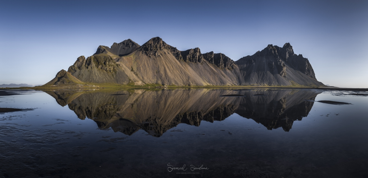 Can reflections get any better than this? A pano of stokksness.