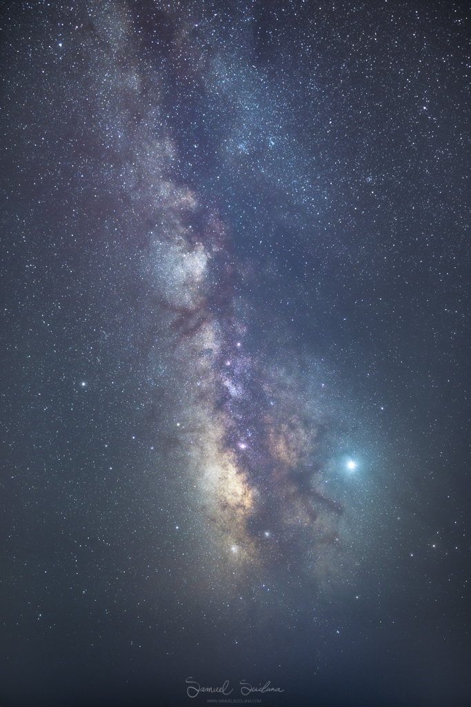 The Milkyway from Mtahleb in Malta.