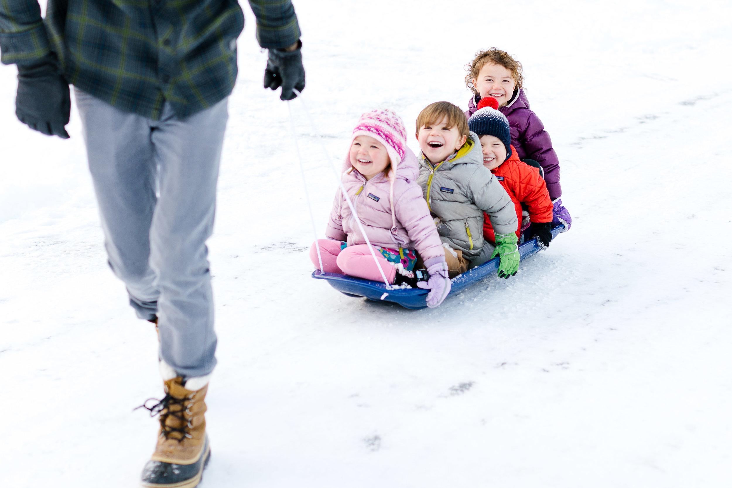 Skykomish sledding family reunion toddlers kids happy seattle area family photos chelsea macor photography-3.jpg