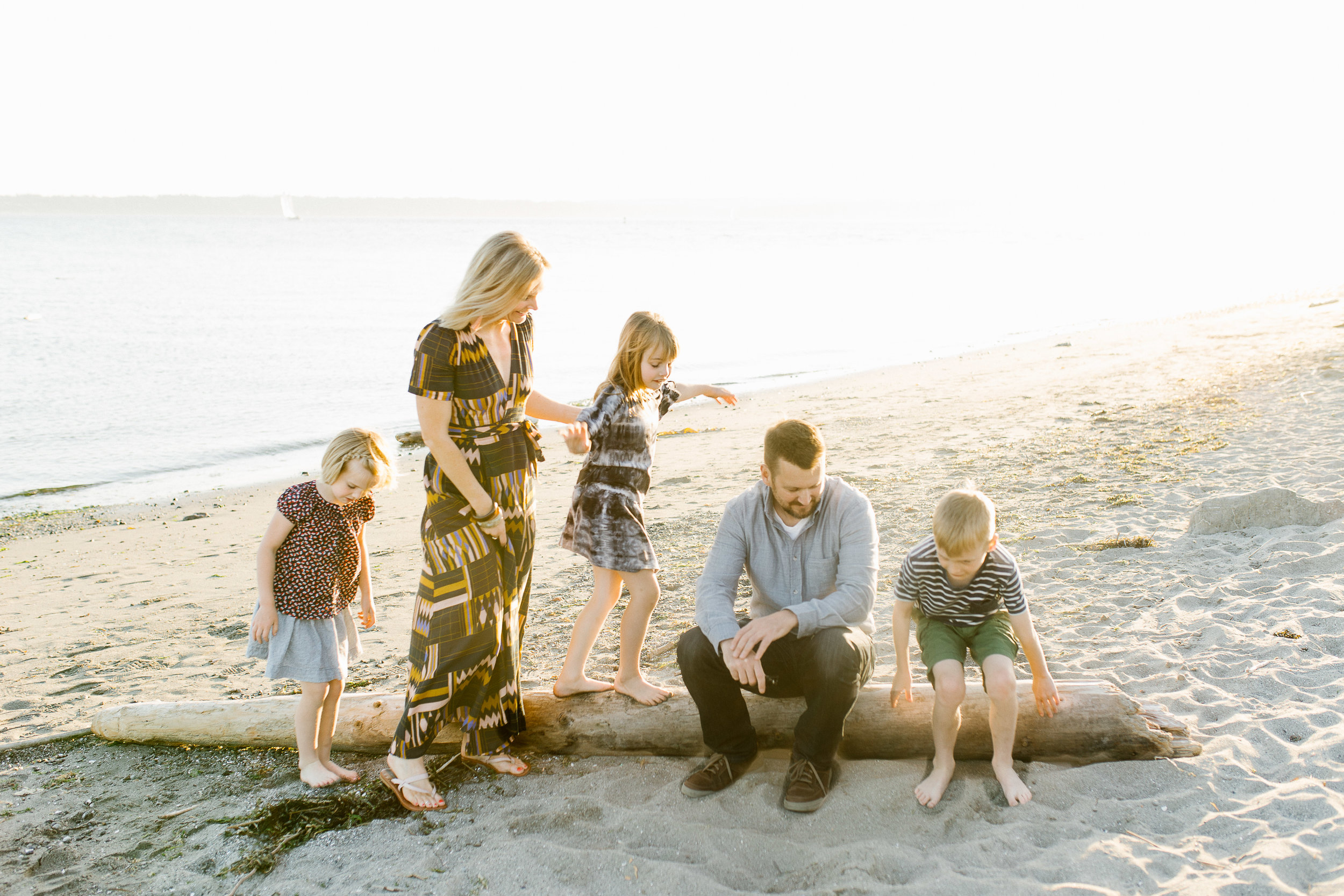 Lifestyle Family Session at Discovery Park Beach Seattle WA Style Blogger Stylist Dress Tips Chelsea Macor Photography-5.jpg