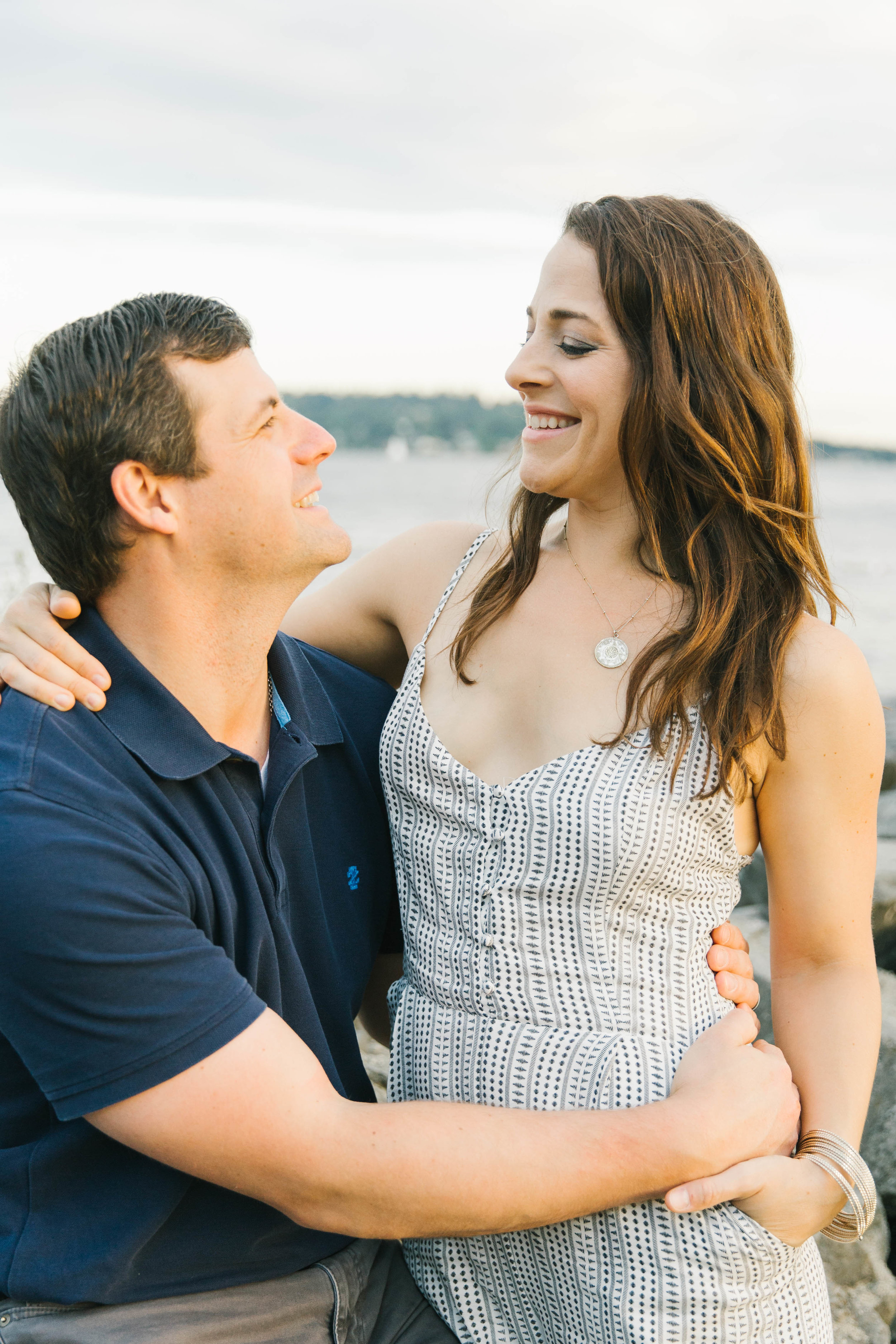 Seattle Family Photography Beach Session Golden Hour Natural Light, Mom and Boys, sunset on the water by Chelsea Macor Photography-14.jpg