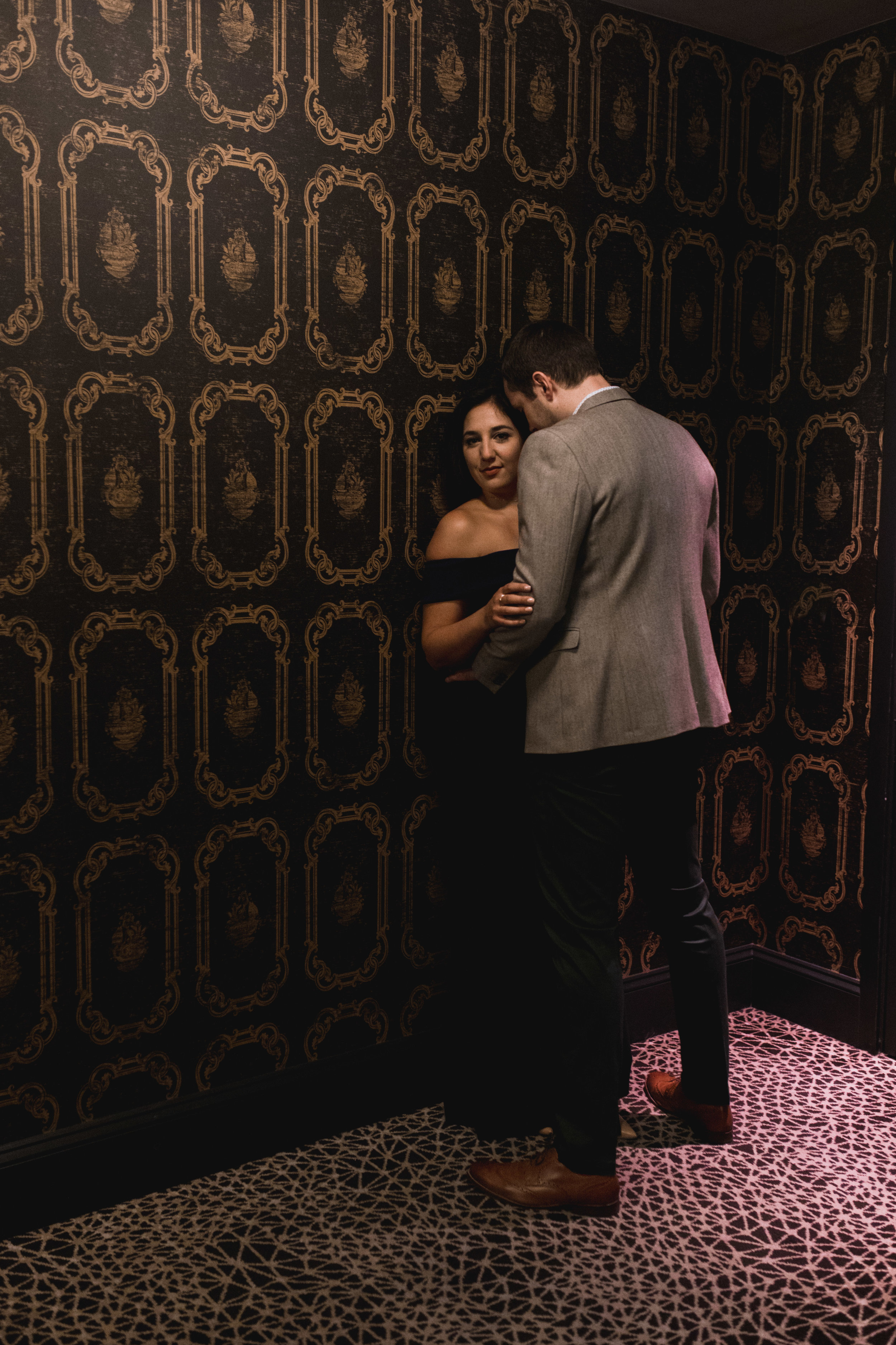 Seattle Engagement Session with two destinations- hotel and arboretum- natural light by Chelsea Macor Photography-9.jpg