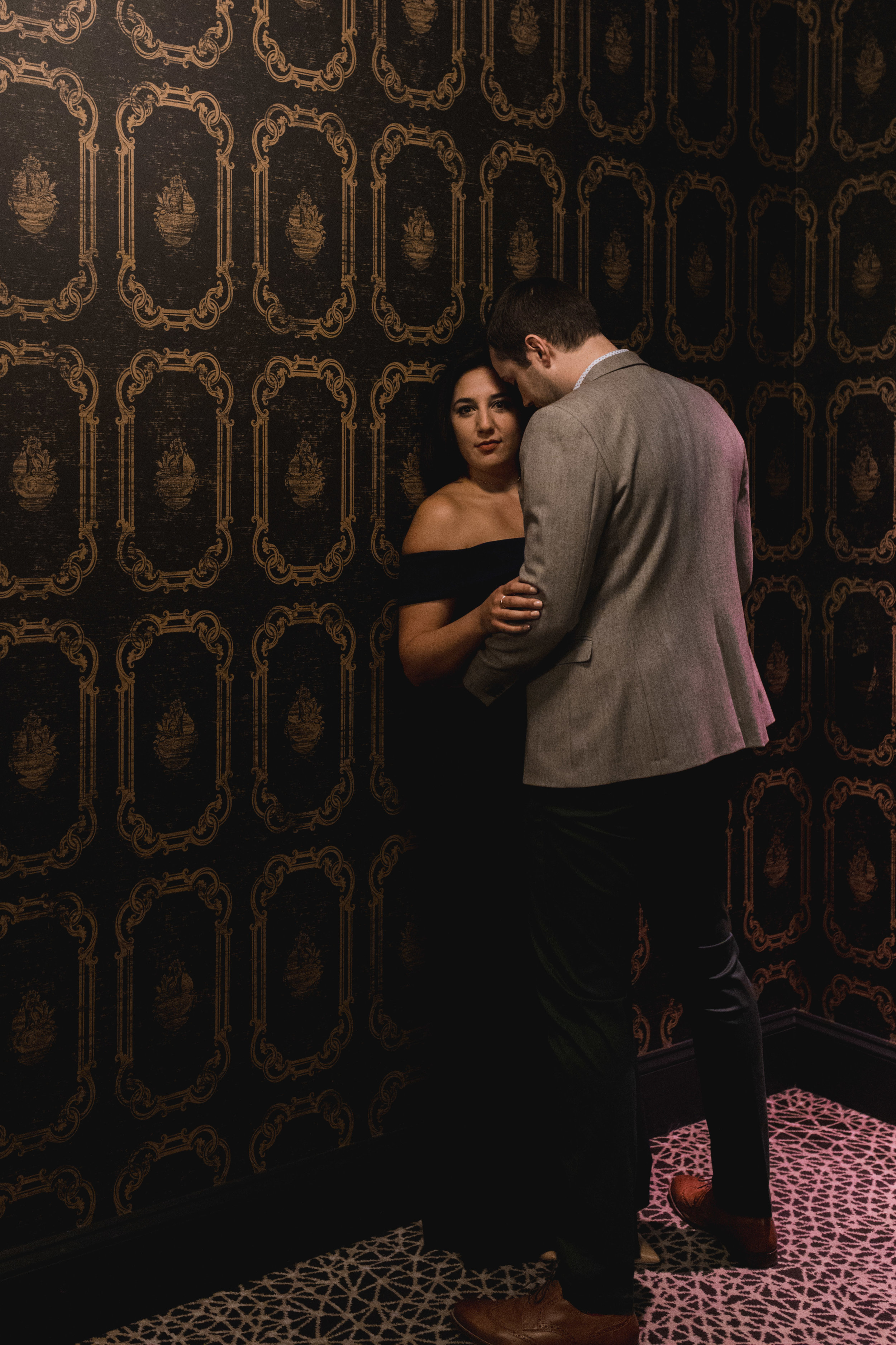 Seattle Engagement Session with two destinations- hotel and arboretum- natural light by Chelsea Macor Photography-10.jpg
