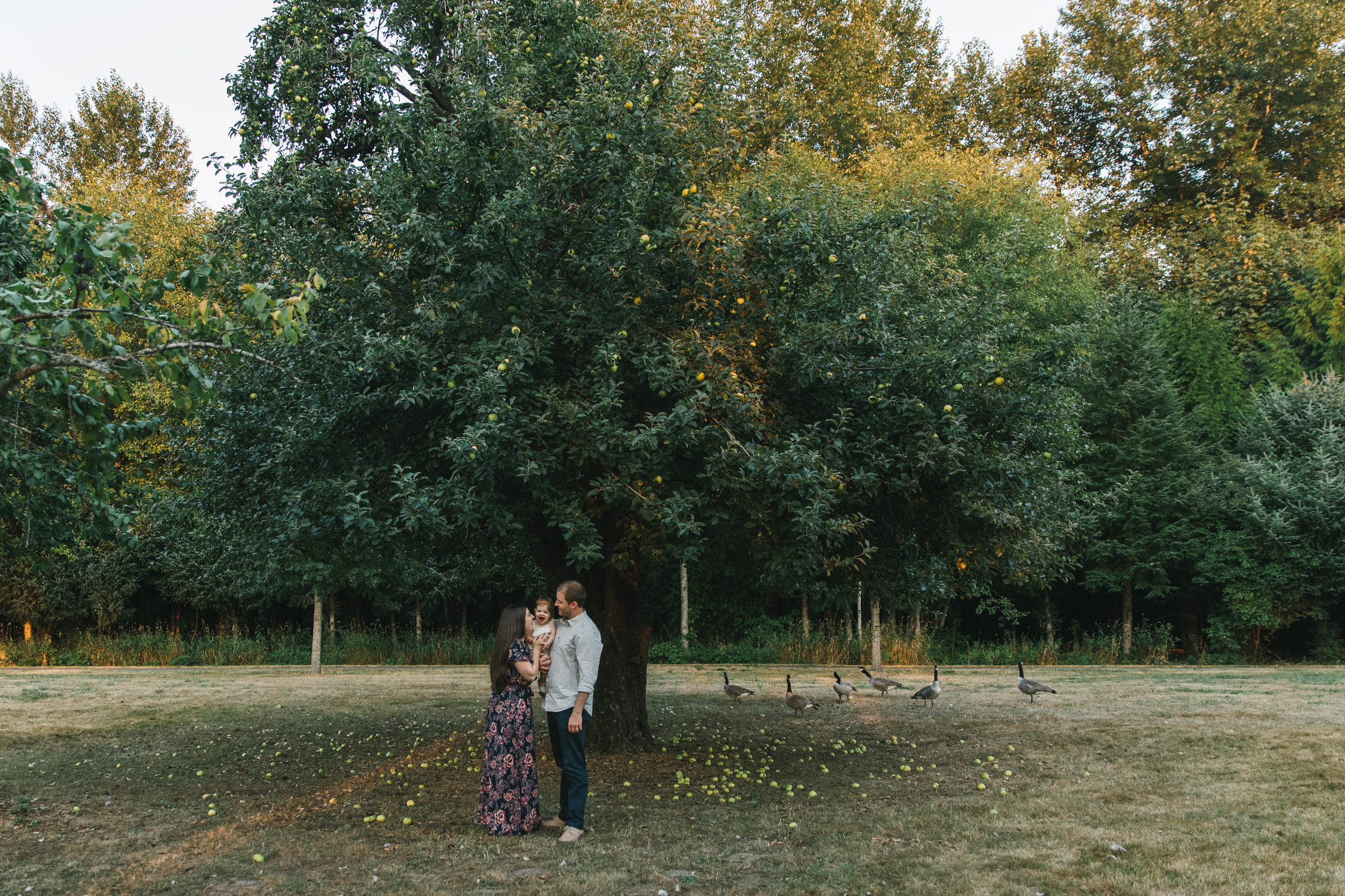 Playful and sweet family session in Issaquah at golden hour and twilight Mom and Dad with their toddler photographed by Chelsea Macor Photography in a playful and intimate way-6.jpg