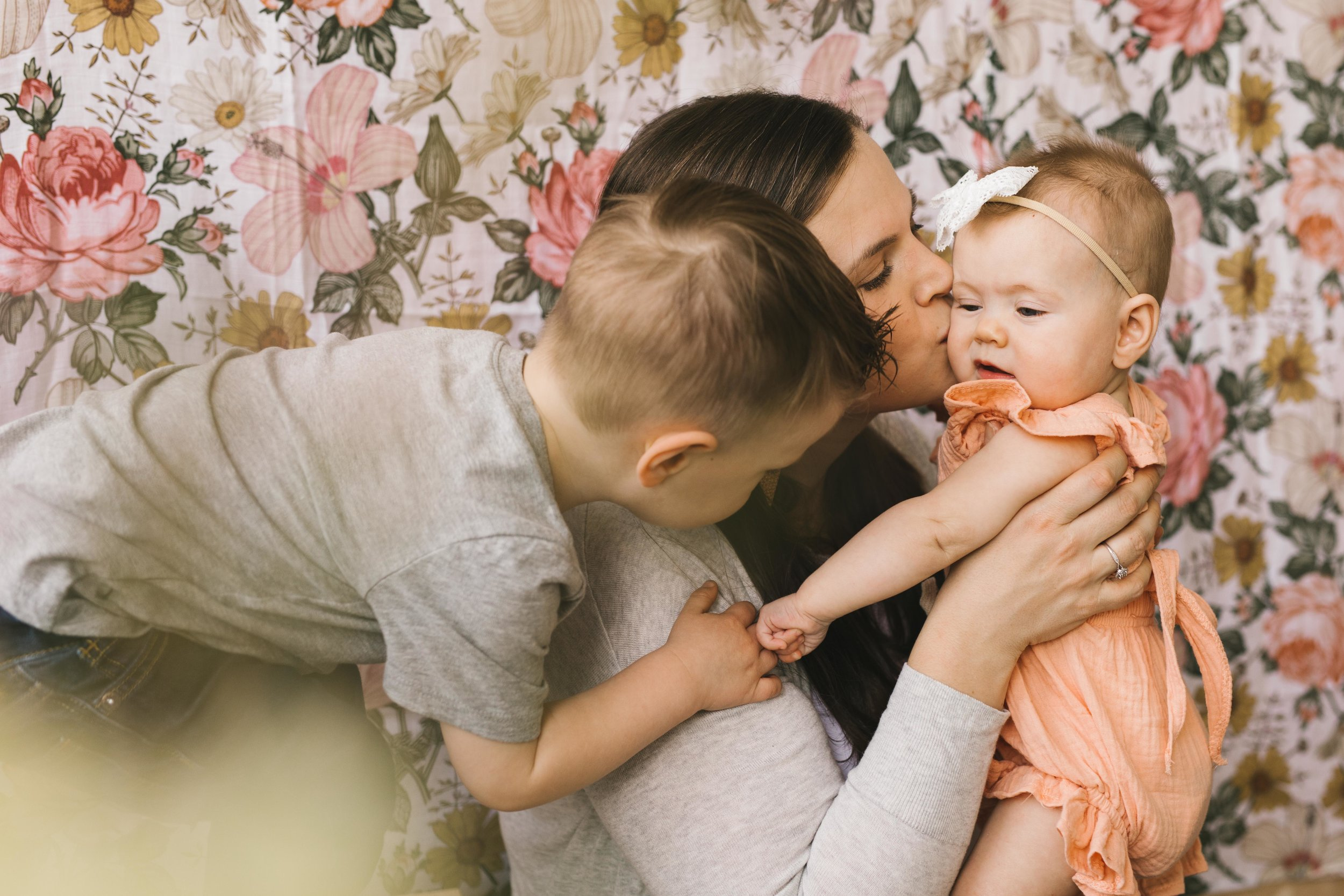 Family Studio Photography made modern, natural, and authentic by Seattle Family and Motherhood photographer Chelsea Macor Photography