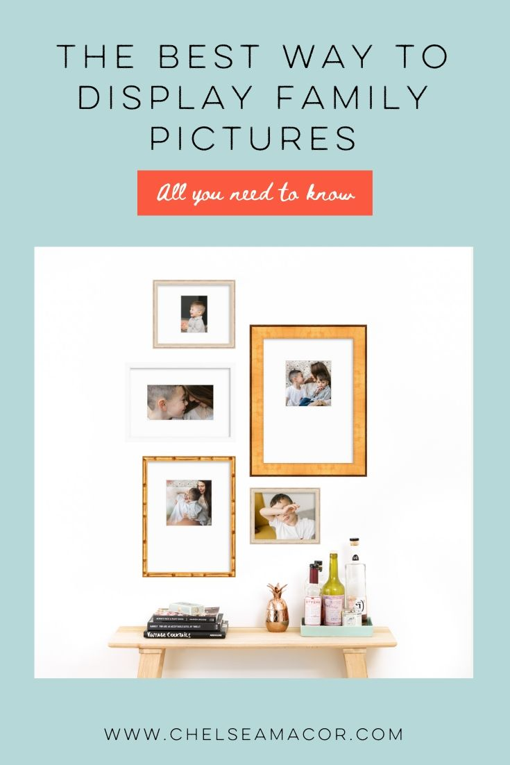 The best ways to display and celebrate your family photos