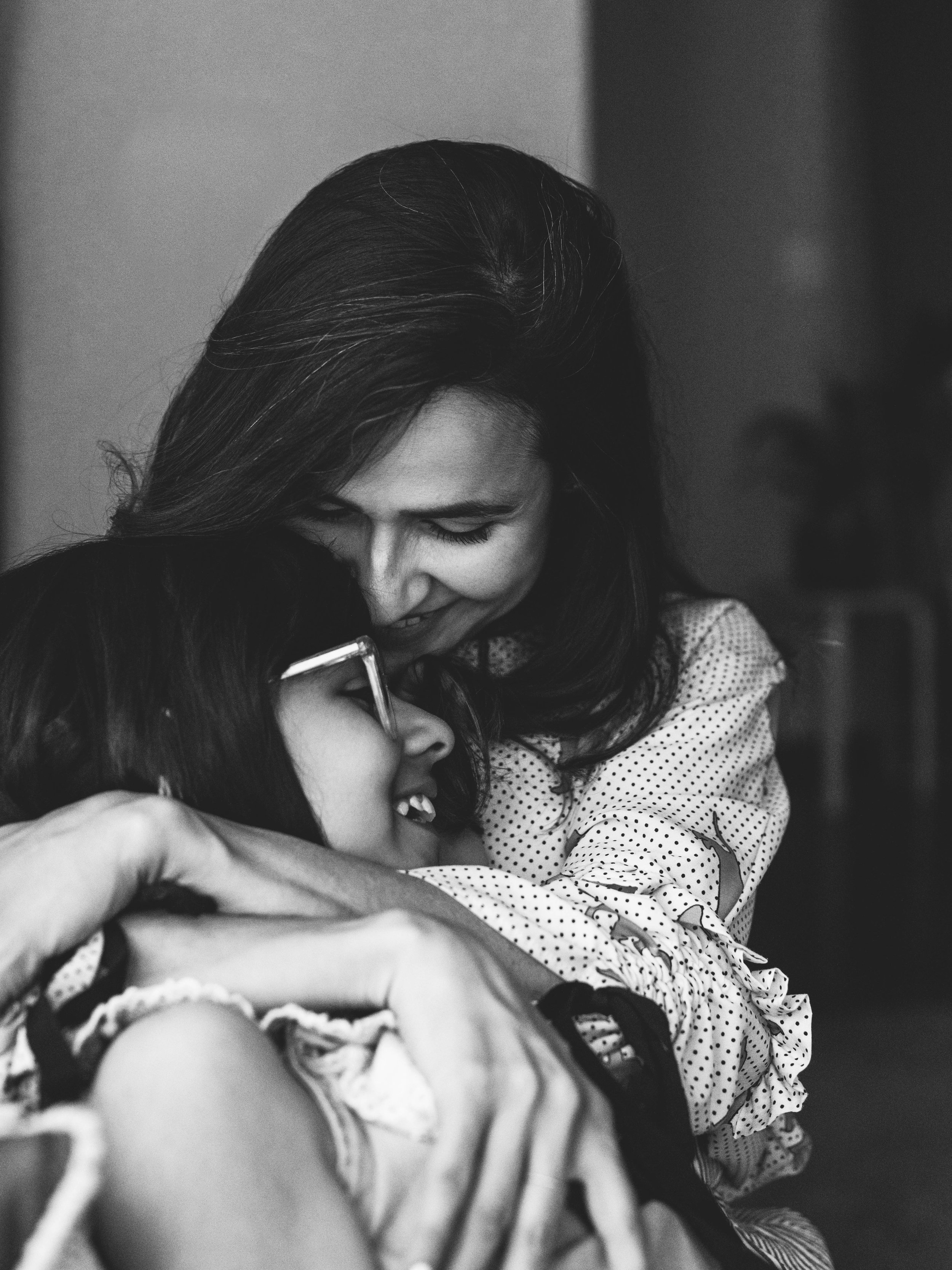Mother and daughter photographs at their beautiful home near Seattle by Chelsea Macor Photography