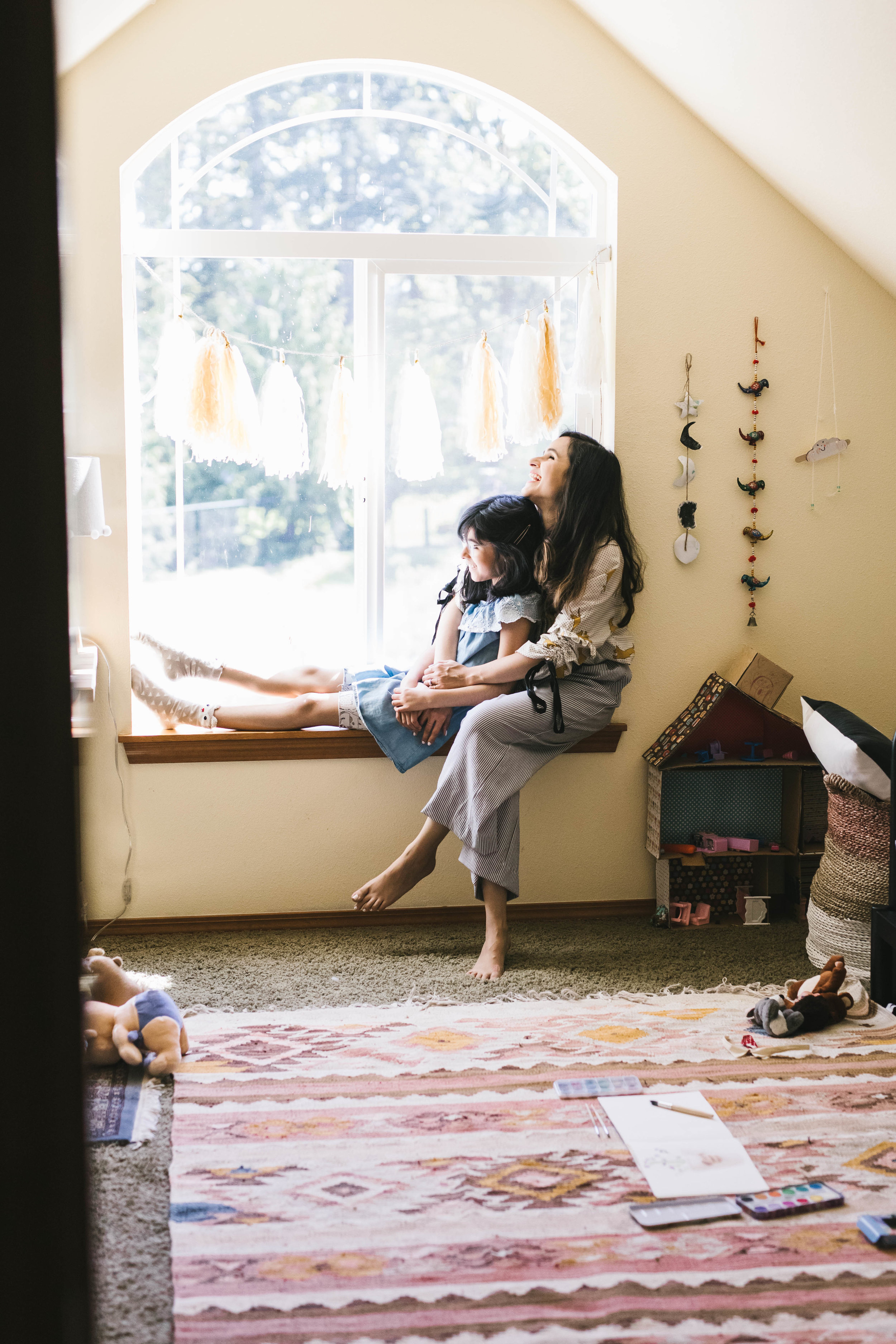 Mother and daughter photographs at their beautiful home near Seattle by Chelsea Macor Photography-19.jpg