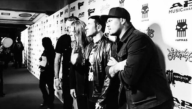 #tbt at the @altpress red carpet in Ohio. #StayDed #altpress