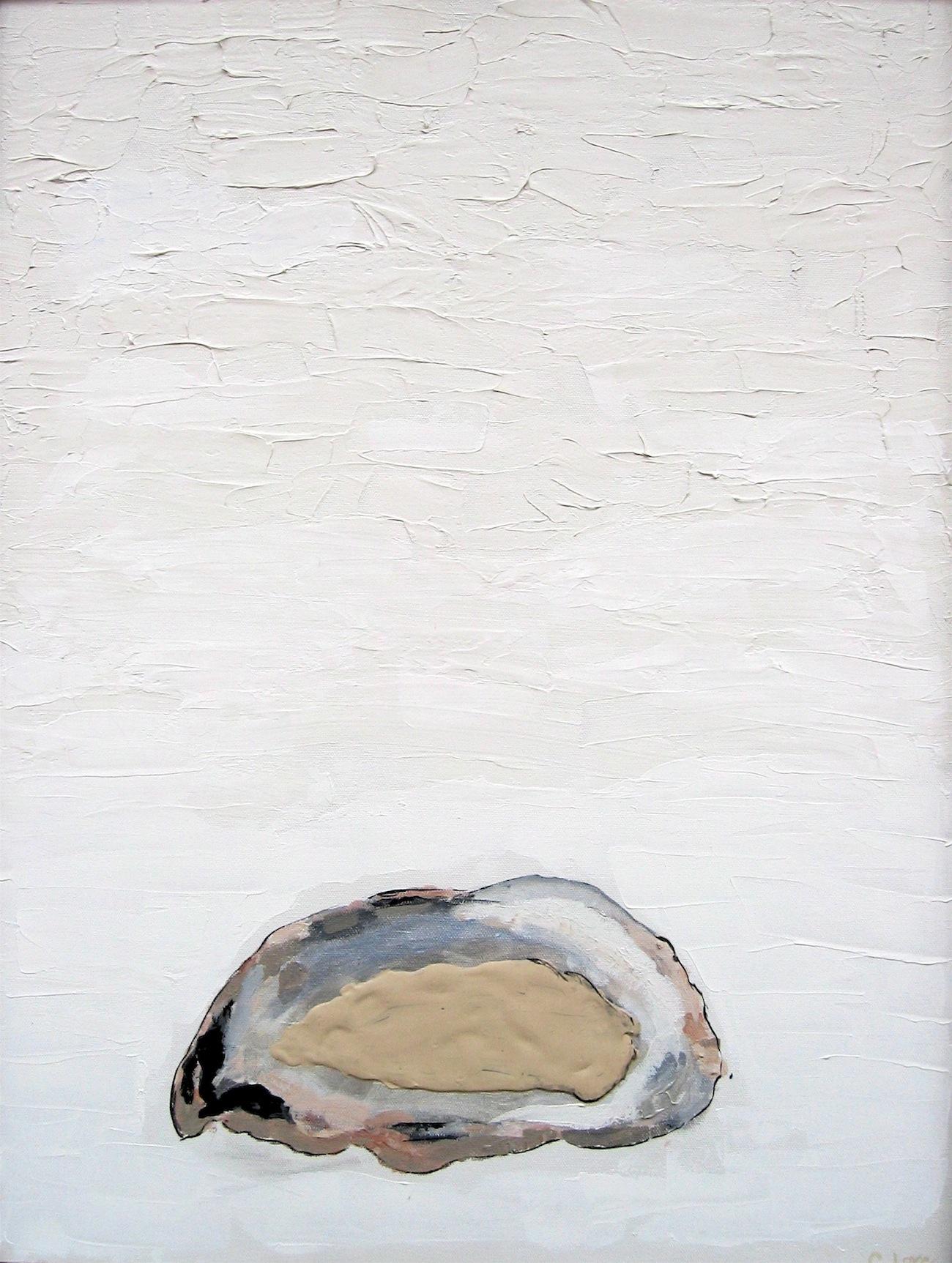 """Oyster   Acrylic on Canvas  22"""" x 34"""""""